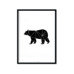 """Black Bear'y"" Plakat"