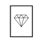 """Diamond"" Plakat A3"
