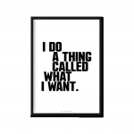 """What I Want"" 