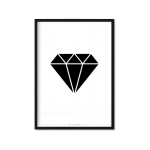 """Black Diamond"" Plakat"