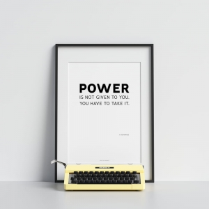 """Power"" Plakat"