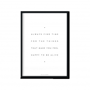 """Always Feel Happy"" 