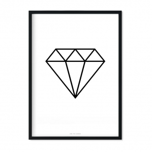 """Diamond"" Plakat"
