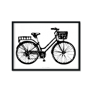 """Bike (IV)"" Plakat"